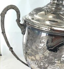 1903 Rare / Huge / Queensland Cycling Trophy 25 Mile Qld Road Race Championship