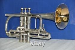 1905 C G Conn Conn Queror Cornet/Trumpet, Bb and A' original Case, Mute, other
