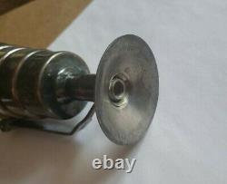 1920s-30s Vintage NAPIER Art Deco Silver Plate Press & Release Graduated Jigger