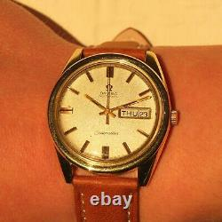 1970 Omega Seamaster Cal. 752 Day-Date Automatic, 37mm Gold Plated, Original Dial