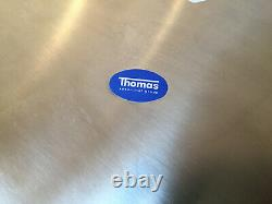 4 Thomas Vario Stainless Steel Service Plates Charger Triangle Rosenthal Group