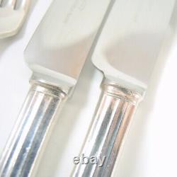 62pc Vintage Oneida Community Hampton Court Extended Silver Plate Cutlery Set