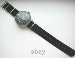 ARMIDA mechanical wristwatch, military aviation style for pilot, aviator