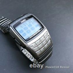 All Original 1992 Vintage CASIO EDB-610 (2550) Data Bank 36mm watch New Battery