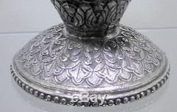 Antique Anglo Indian Solid Silver Rose Water Sprinkler. Kutch, 1890s. 475 Grams