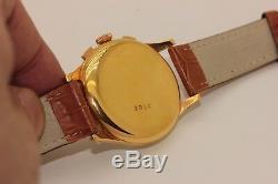 Antique Original Orator Mark Gold Plated Kronograf Amazing Wrist Watches