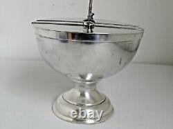 Antique Silver Plate Soda Fountain Condiment Holder for Ice Cream Sundaes
