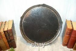 Antique Silver Plated Mirror Plateau Pairpoint Mfg Art Deco Quadruple Plate