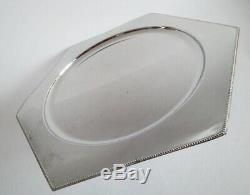 Argentor wiener werkstatte/secessionist silver plated tray, cca. 1905 rare