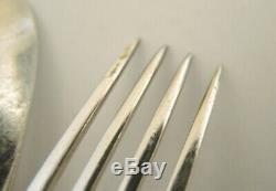 Art Deco Vintage ATLA Danish COHR Silver Plate Eranthis Cutlery Set