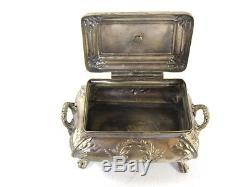 Art Nouveau Sugar Bowl NORBLIN