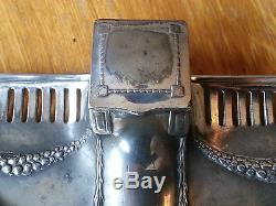 Art nouveau WMF silver plated Inkwell. Tudric secessionist carl Deffner