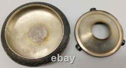 Ashray Silverware Eb Monogram Personal Eva Braun From Berghof Ah Original & Rare