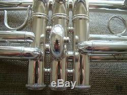 Bach Stradivarius C180SL239, original case, silver plated GAMONBRASS trumpet