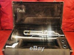 Bach TR200S Silver Intermediate Trumpet with Original Bach Case