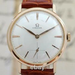 Beautiful Omega Swiss Gold Plated Original Dial Manual Wind Vintage 1963' Watch