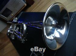 Benge Los Angeles 5X Trumpet, original case and Bach Mount Vernon 7c MP