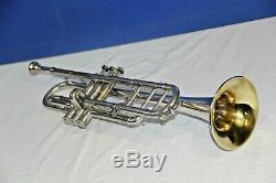 C, A & B-flat Boland & Fuchs (Marceau) Trumpet, Original case and Mouthpiece