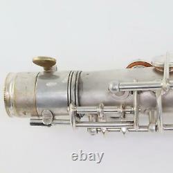 C. G. Conn 10M Professional Tenor Saxophone SN 297636 ORIGINAL SILVER