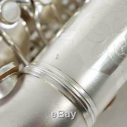 C. G. Conn F-Mezzo Soprano Saxophone SN 213726 ORIGINAL SILVER PLATE GORGEOUS