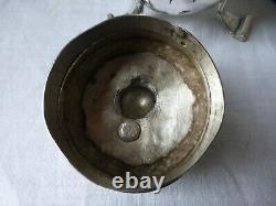 Chocolatière verseuse plaquée argent. XVIIIème. Silver-plated jug chocolate maker