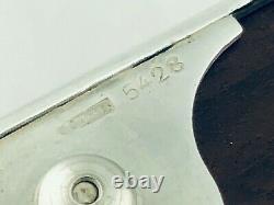 Christofle Gallia Boite metal argenté & bois Antique wood & silver plated XIX