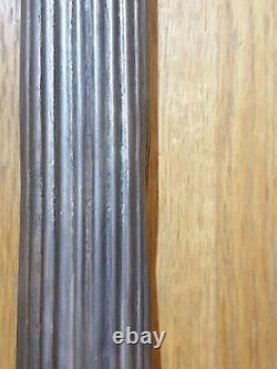 Corinthian column table oil lamp candlestick light matching pair silver plate