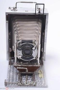 Demaria Freres Caleb Original Luxus, Tropical, Tropen Model 9x12cm Plate Camera