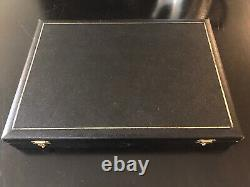 Edwin Blyde & Co. Antler Handle Steak Knives & Forks in Original Box