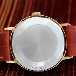 Excellent Omega 1964' Gold Plated Manual Wind Original Vintage Gents Watch