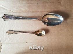 Extensive canteen of Silver plated cutlery in original fitted wooden case