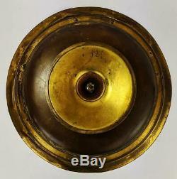 F. BARBEDIENNE LEVILLAIN NEO- GRÉC GILT BRONZE & SILVER PLATE TAZZA c1880