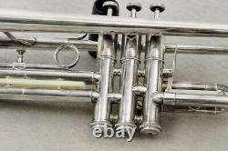 GETZEN Trumpet Eterna Severinsen Model Silver Finish with Original Case'73-74