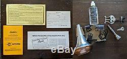 Getzen 900S Eterna Professional Bb Trumpet Vintage 1987 hard case original docs