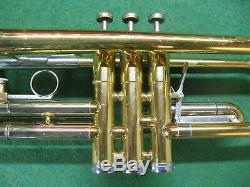 Getzen Capri Trumpet 1969 Refurbished Original Case and Getzen 7C Mouthpiece