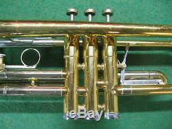 Getzen Capri Trumpet 1969 Refurbished Original Case and Getzen 7C Mouthpiece