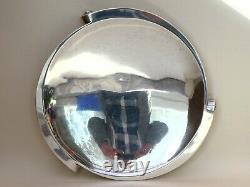 Good English Art Deco Modernist Harrods London Silver Plate Dish Circa 1935