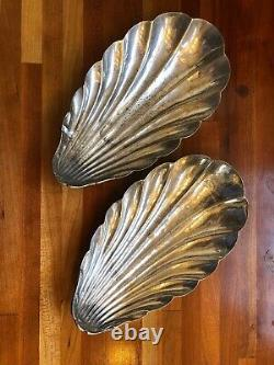 Gorham E P Silver Plated Shell Dish Waldorf Astoria GM Co. Hotel 07222