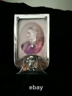 Great Original Art Nouveau, Jugendstil, Wmf Silver Plated Photo Frame