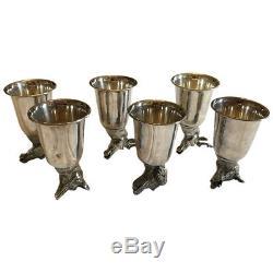Gucci Silver Stirrup Cups
