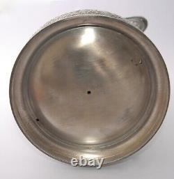HUGE 1898 Canadian Military-Rifle League MERDIEN Silver Plate Hot Water Jug 36cm
