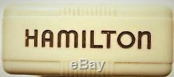 Hamilton 4992B Military 1942 Montgomery 12 hours dial in Original Bakelite Case