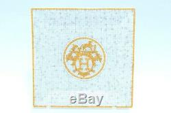 Hermes Mosaique au 24 Square Plate 5.9 x 5.9 porcelain n°3 Dinnerware tray YA8