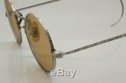 John Lennon Style Round Eyeglasses / Sunglasses Silver Plated Stainless Steel