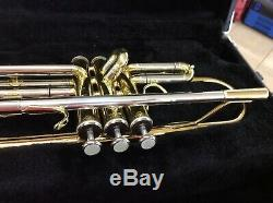 Jupiter CEB-660 Trumpet Capital Edition With Original Hard Case