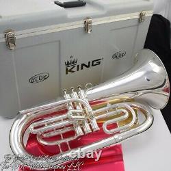King System Blue Marching Euphonium Original Finish The Bomb