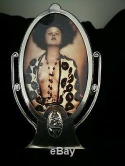 Large Great, Rare, Wmf Art Nouveau, Jugendstil, Silver Plated Photo Frame