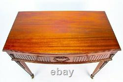 Mahogany Cutlery Canteen Side Table Viners c1930 Silver Plated Vintage