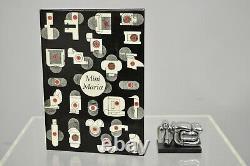 Miguel Berrocal La Mini Maria Nickel Plated Puzzle Sculpture Box and Book