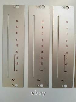 NEVE Silver Fader Plate Vintage Original lot of 14 Parts Accessories